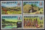 Свазиленд 1972 год. Туризм. 4 марки