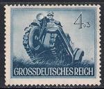 Рейх 1944 год. Танкетка. 1 марка