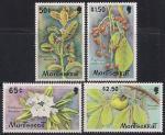 Монсеррат 1982 год. Цветы. 4 марки