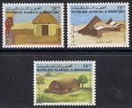 Мавритания 1982 год. Хижины. 3 марки