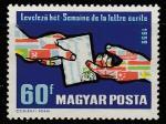 Венгрия 1959 год. Неделя международного письма. 1 марка