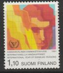 Финляндия 1981 год. Международный год инвалидов. 1 марка