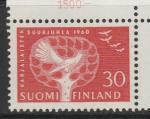 Финляндия 1960 год. Кукушка. 1 марка