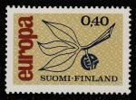 Финляндия 1965 год. Европа. 1 марка