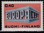 "Финляндия 1969 год. ""EUROPA"" и ""CEPT"" на форме.1 марка"