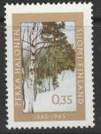 Финляндия 1965 год. 100 лет со дня рождения художника Пекка Халонена. 1 марка