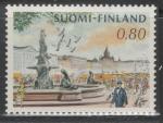 Финляндия 1976 год. Рыночная площадь в Хельсинки. 1 марка