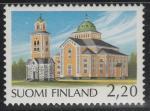 Финляндия 1988 год. Кирха в Керимяки. 1 марка