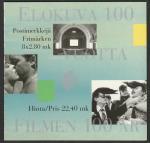 Финляндия 1996 год. 100 лет финскому кинематографу. 8 марок в буклете