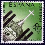 Испания 1959 год. Мемориал в долине де Лос Кайдос. 1 марка