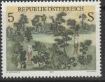 Австрия 1987 год. Картина современного австрийского искусства. 1 марка