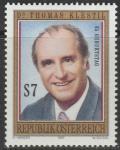 Австрия 1997 год. 65 лет со дня смерти президента Австрии Томаса Клестиля. 1 марка