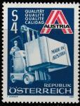 Австрия 1980 год. Продвижение австрийского экспорта. 1 марка