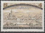 Австрия 1980 год. 1000 лет городу Штайр. Вид на город 1693 года. 1 марка