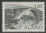Аланды 1987 год. Мост Фарсуни. 1 марка