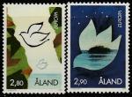 Аланды 1995 год. Европа: мир и свобода. Символика. 2 марки