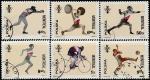 Польша 1976 год. Летние Олимпийские игры в Монреале. 6 гашёных марок