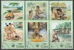 """Куба 1985 год. Международная филвыставка """"ESPAMER-85"""", Гавана. 6 гашёных марок"""