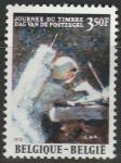 Бельгия 1972 год. Астронавт Давид Р. Скотт (Аполлон-15) на Луне. 1 марка (ю)