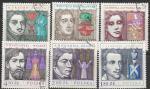 Польша 1978 год. Шедевры польской драматургии, 6 гашёных марок