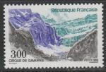 Франция 1988 год. Туризм. Водопад Гаварни, 1 марка