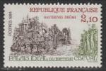 Франция 1984 год. Туризм. История почты, 1 марка