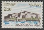 Франция 1984 год. Туризм. Цитадель в Бель-Элле, 1 марка