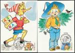 4 Картмаксимума. Герои детских произведений, Москва, 22.04.1992 год