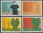 Ангола 1991 год. 30 лет начала вооружённой борьбы за свободу, 4 марки