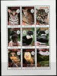 """Гренада 1995 год. 100 лет Организации Охраны Природы """"Sierra Club"""", малый лист"""