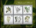 Либерия 2013 год. Лекарственные растения, малый лист