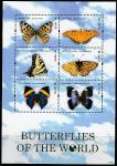 Невис 2011 год. Бабочки, малый лист