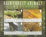 Монтсеррат 2009 год. Фауна островов, малый лист