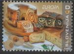 Словения 2005 год. Европа. Гастрономия, 1 марка