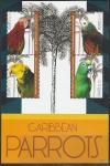 Сент-Китс 2012 год. Попугаи Карибского бассейна, малый лист