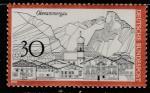ФРГ 1970 год. Туризм. Обераммергау, 1 марка
