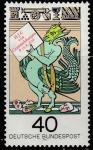 ФРГ 1976 год. 300 лет со дня смерти Х.Д. Гримпельсхаузена. Сказки, 1 марка