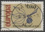 Финляндия 1965 год. Европа СЕРТ, 1 гашёная марка
