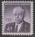 США 1960 год. Сенатор Роберт Тафт, 1 марка
