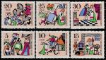"""ГДР 1967 год. Сказка """"Король Дроздобород"""", 6 марок"""