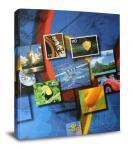 Альбом для марок немецкой фирмы PRINZ на кольцах с листами. 275х315мм. Арт 5050.