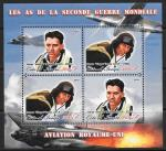 Авиаторы Великобритании Второй Мировой войны. Кот дИвуар 2011 год. Малый лист