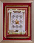 Россия 2017 год. Сувенирный набор в раме «200 лет учреждения знака отличия военного ордена Святого Георгия Победоносца»