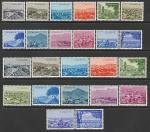 Турция 1959 год. Города (IV), 24 марки.