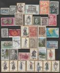 Набор марок Греции (I), 37 гашёных марок