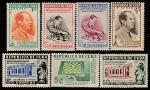 Куба 1951 год. III Чемпион мира по шахматам Хосе Рауль Капабланка, 7 марок (наклейка)