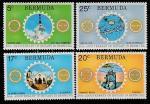Бермуды 1974 год. 50 лет Ротари - клубу на Бермудах, 4 марки.