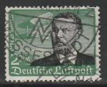 Германия (Рейх) 1934 год. Немецкий инженер Отто Лилиенталь, 1 марка (гашёная). из серии