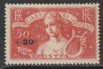 Франция 1936 год. Психологическая помощь, 1 марка (наклейка)