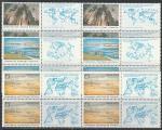СССР 1989 год. Сохраним природу и мир! 3 квартблока (5973-5975)